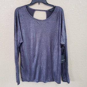 NWT Trouve Open Back Blouse/Dressy Top Medium